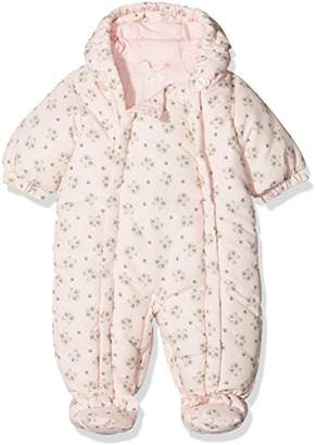 Benetton Baby Girls' Overall Romper, Pink (Light Pink h)