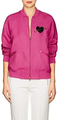 Valentino Women's Embellished Twill Bomber Jacket
