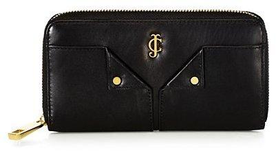 Juicy Couture Selma Leather Zip Wallet