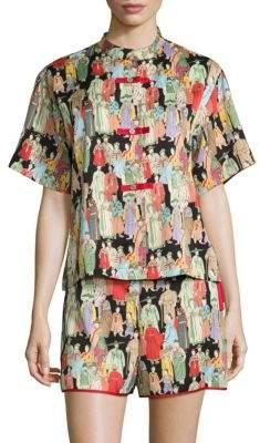 Natori Dynasty Short Pajama Set