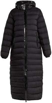Moncler Grue quilted-down long-line coat