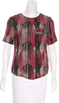 Maiyet Silk Printed Top