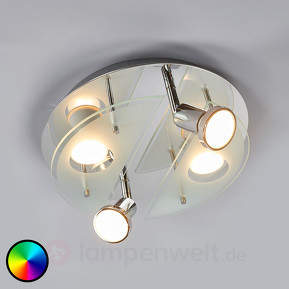 Runde Deckenlampe Cabo-C LED RGBW