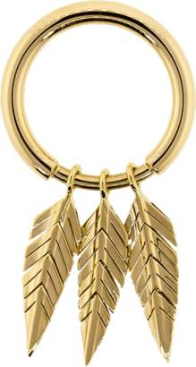 Cadar Gold Three Feather Ring