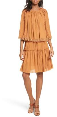 See by Chloe Pleated Popover Dress