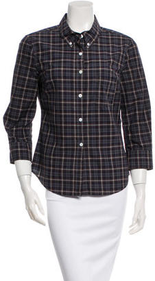 Boy. by Band of Outsiders Plaid Button-Up Top $55 thestylecure.com