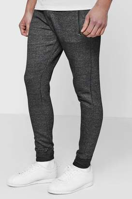 boohoo Skinny Fit Jogger With Contrast Waist Band