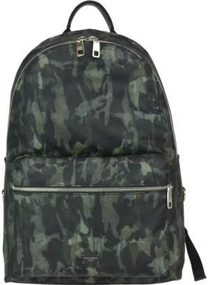 Dolce & Gabbana Vulcano Camouflage Backpack