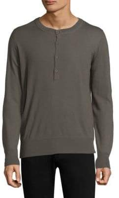 Tomas Maier Baby Cashmere Henley