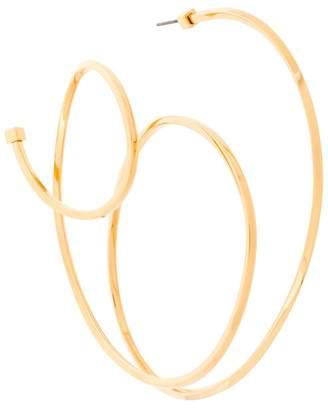 Balenciaga Round Elastic Earring