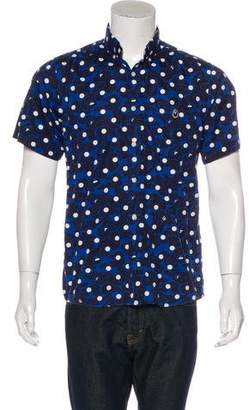 A Bathing Ape Polka Dot Ape Camouflage Shirt