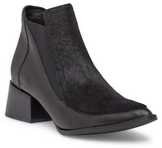 Sol Sana Rico Chelsea Leather & Genuine Cow Hair Boot