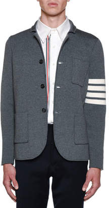 Thom Browne Men's Milano Stitch Single Breasted Sportcoat