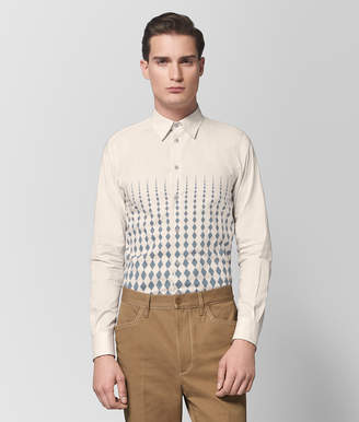 Bottega Veneta MIST/DARK ARCTIC COTTON SHIRT