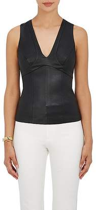 Narciso Rodriguez Women's Paneled Leather Top