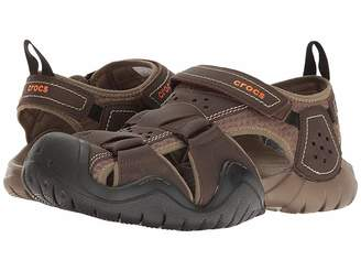 Crocs Swiftwater Leather Fisherman
