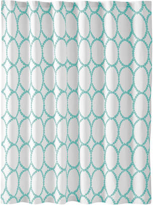 Martha Stewart Collection Closeout! Collection Mirror Mirror Shower Curtain, Created for Macy's Bedding