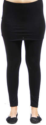 24/7 Comfort Apparel Layered Knit Leggings