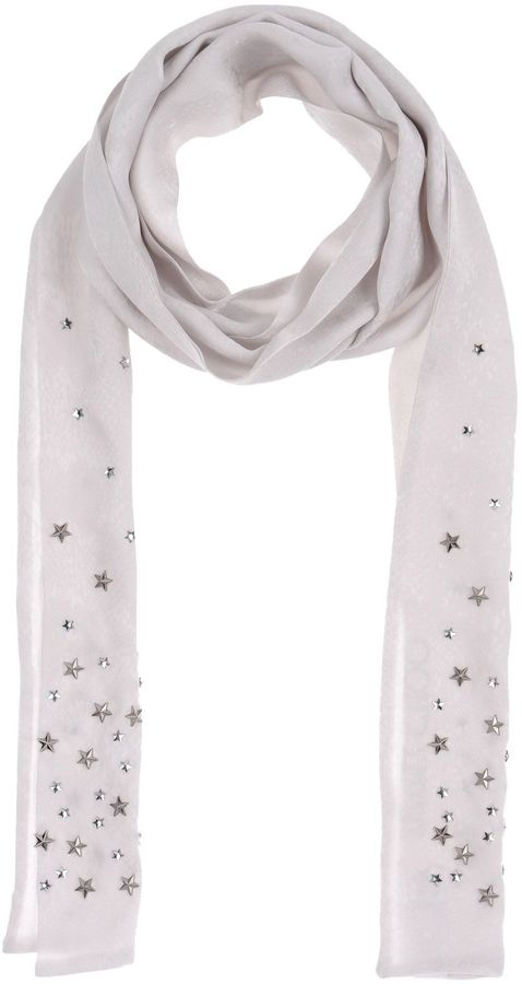 Jimmy Choo JIMMY CHOO LONDON Oblong scarves