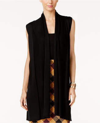 Joseph A Shawl-Collar Duster Sweater Vest $60 thestylecure.com