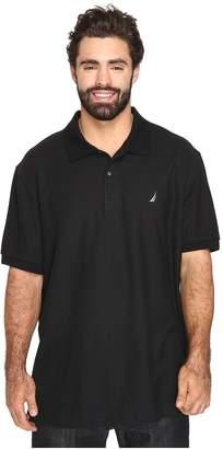Nautica Big Tall Anchor Solid Deck Shirt Men's Short Sleeve Pullover