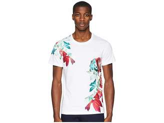 Versace Exploded Floral Graphic T-Shirt