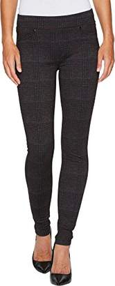 Liverpool Jeans Company Women's Sienna Pull On Legging in Glenn Windowpane Soft Ponte Knit