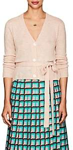 Brock Collection Women's Kane Cashmere-Silk Belted Cardigan - Pink