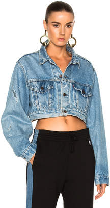 RE/DONE Crop Denim Jacket