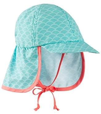 Schiesser Baby Girls' Seepferdchen Selina Schirmmütze Hat,(62/68 cm)