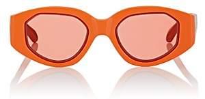 Karen Walker Women's Castaway Sunglasses - Orange