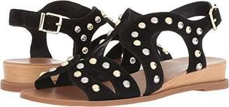 Kenneth Cole New York Women's Jules Stud Low Wedge Sandal Backstrap Flat