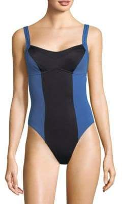 Solid & Striped X One-Piece Hailey Swimsuit