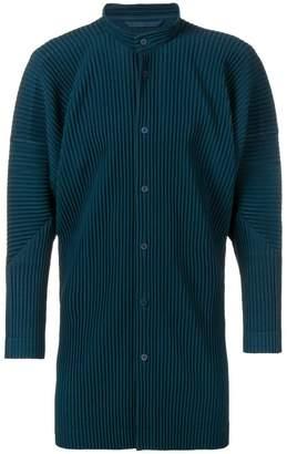 Issey Miyake Homme Plissé pleated shirt