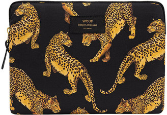 Wouf - Black Leopard iPad Case