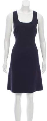 Gianni Versace Wool A-line Dress