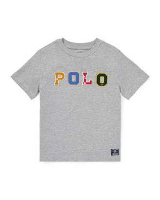 Ralph Lauren Novelty Logo T-Shirt, Size 2-4
