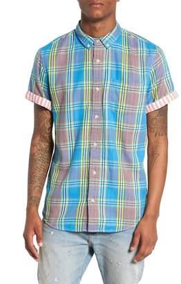 Duofold The Rail Short Sleeve Plaid Shirt