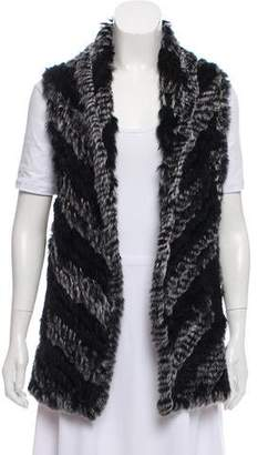 Marc by Marc Jacobs Knit Fur Vest