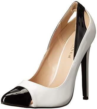 Pleaser USA Women's Sexy22/W-B Dress Pump