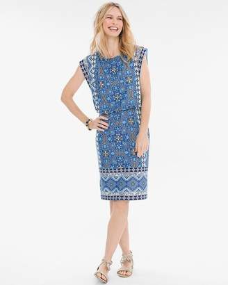 Chico's Chicos Mixed Print Dress