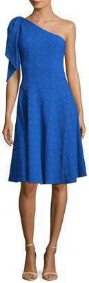 Nanette Lepore NANETTE Women's Soiree One Shoulder Flared Dress