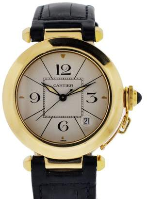 Cartier Pasha 18K Yellow Gold Automatic 38mm Womens Watch