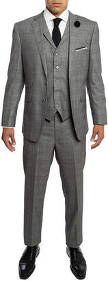 English Laundry Slim Fit Vested Suit