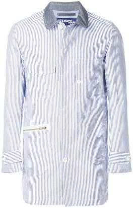 Junya Watanabe striped shirt jacket