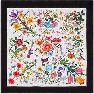 Flora silk printed scarf $485 thestylecure.com