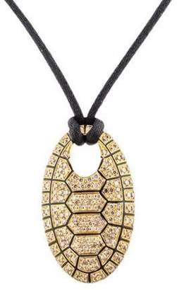 Roberto Coin 18K Diamond Turtle Pendant Necklace yellow 18K Diamond Turtle Pendant Necklace