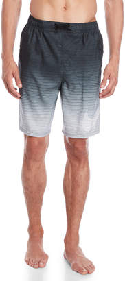 Nike Striped Ombre Volley Swim Shorts
