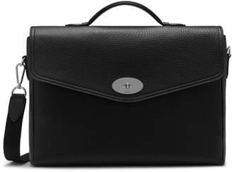 fe5302a9f2b Mulberry Antony Briefcase Black Small Classic Grain