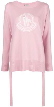 Moncler logo pullover knit sweater